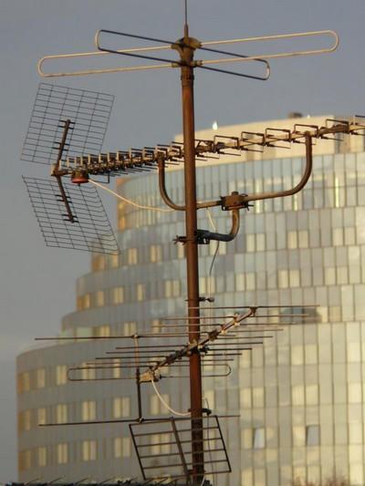 Instalação de antena coletiva