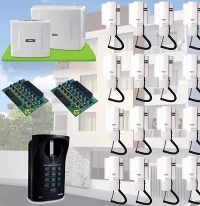 Instalação de interfone coletivo